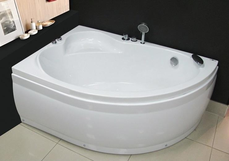 Угловые акриловые ванны Ева Голд