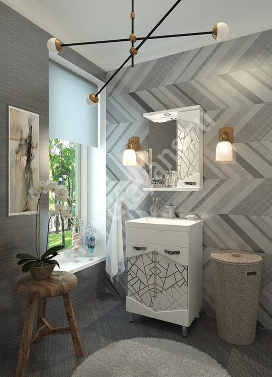 Красивая мебель для ванной комнаты из каталога компании Грандфаянс