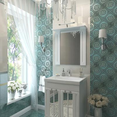 Мебельный гарнитур для ванных комнат Giovanni в классическом стиле