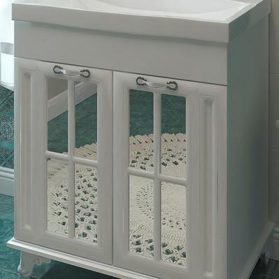 Мебельный гарнитур для ванной в классическом стиле